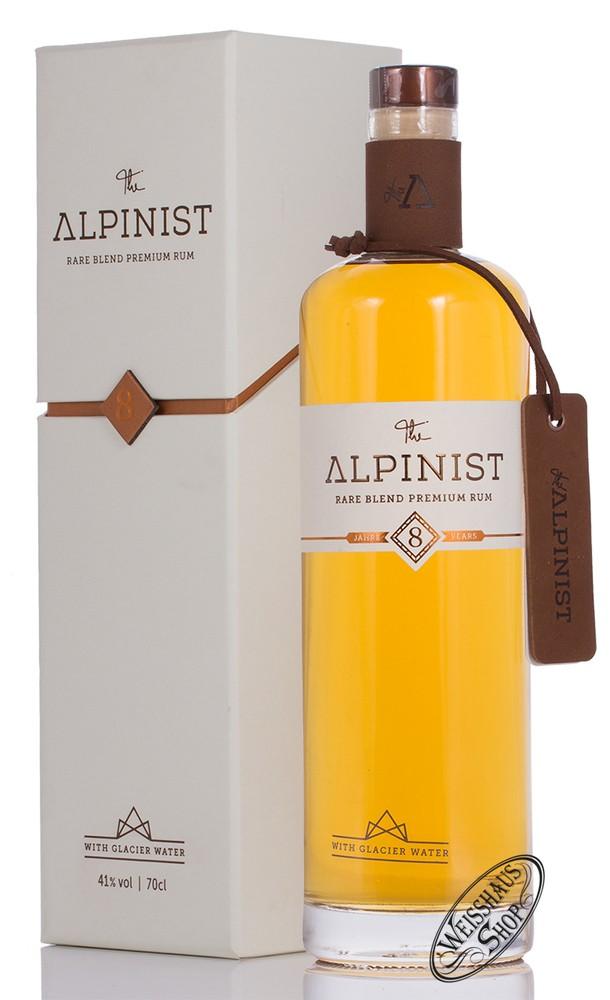 The Alpinist AG The Alpinist 8 YO Premium Rum 41% vol. 0,70l