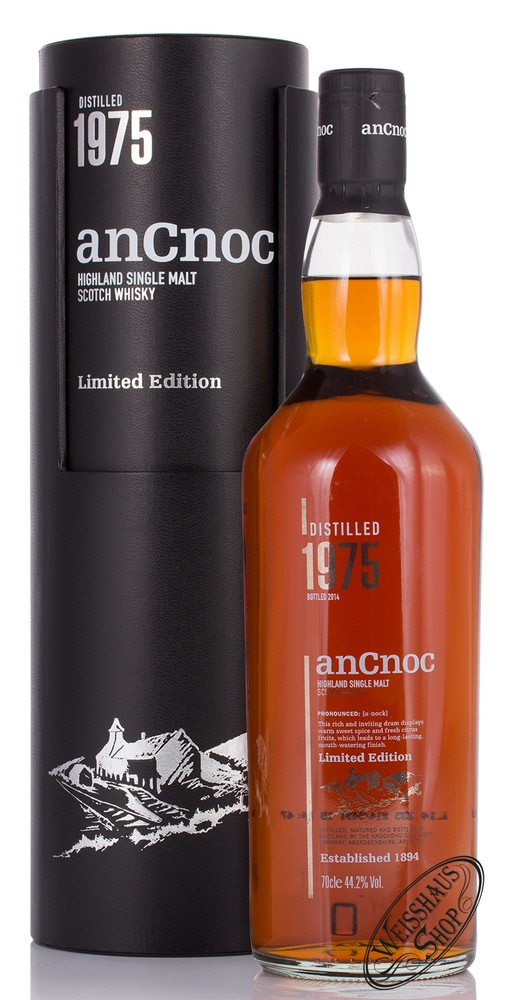 AnCnoc Vintage 1975 Whisky 44,2% vol. 0,70l