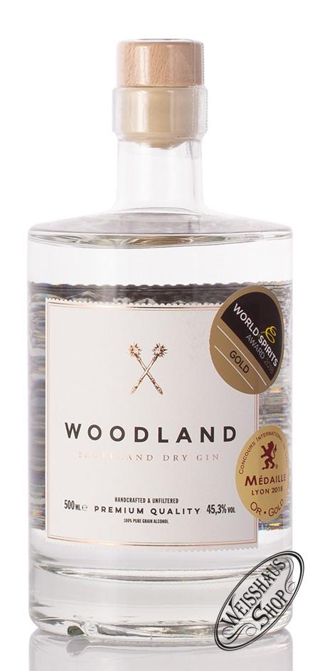 Sauerland Distillers GmbH Woodland Sauerland Dry Gin 45,3% vol. 0,50l