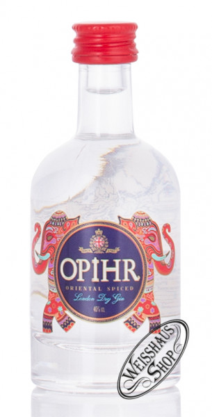 Opihr Oriental Spiced London Dry Gin Miniatur 40% vol. 0,05l