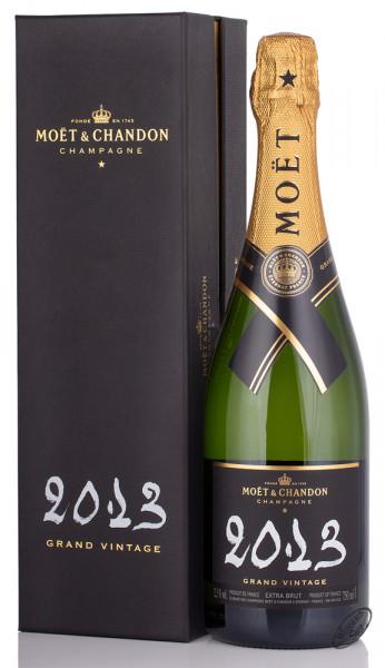 Moet & Chandon Grand Vintage 2013 Champagner im Geschenkkarton 12% vol. 0,75l