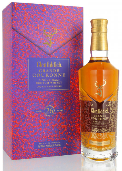 Glenfiddich 26 YO Grand Couronne Whisky 43,8% vol. 0,70l