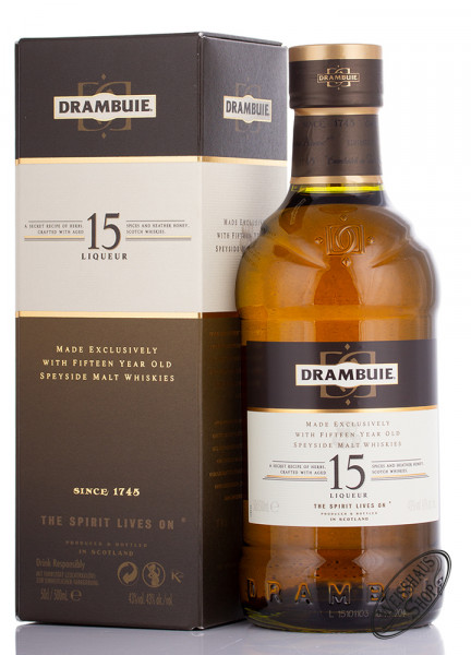 Drambuie 15 YO Whisky Likör 43% vol. 0,50l