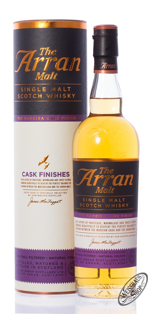 The Arran Madeira Finish Whisky 50% vol. 0,70l