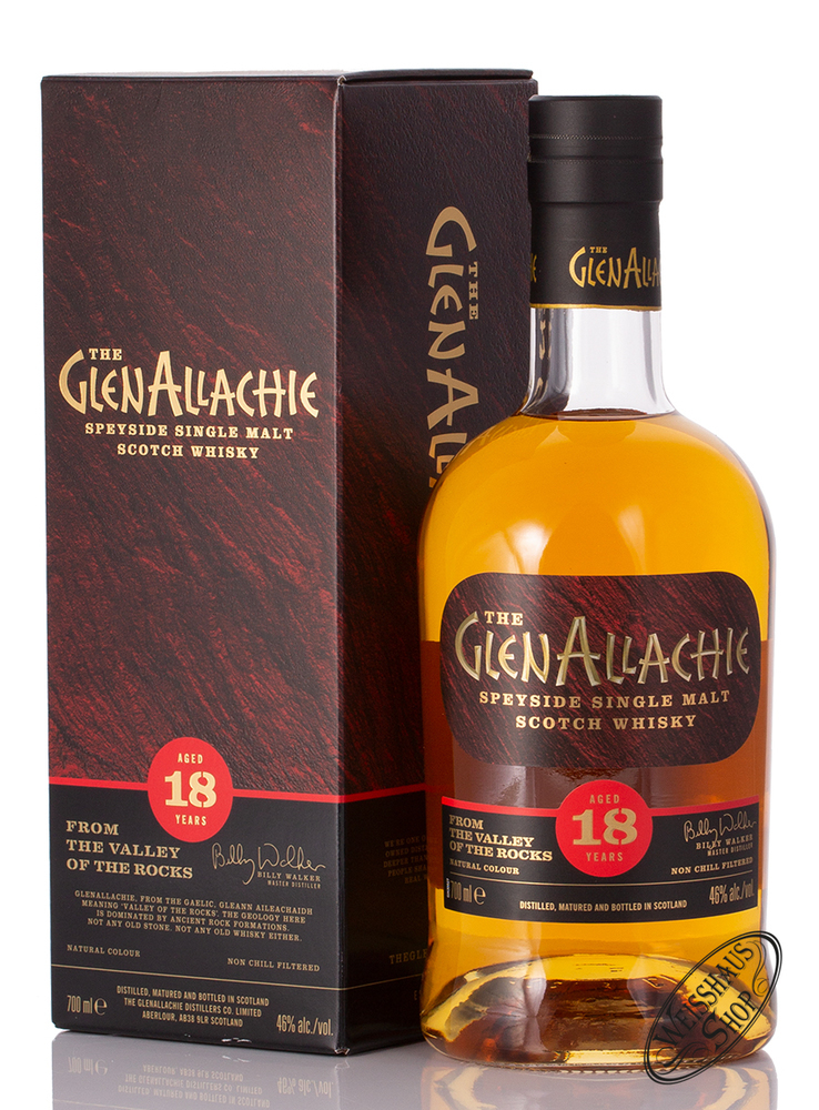 Glenallachie 18 YO Single Malt Whisky 46% Vol. 0,70l
