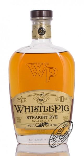 Whistle Pig 10 YO Straight Rye Whiskey 50% vol. 0,70l