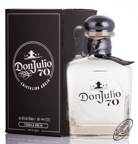 Don Julio Crystal Claro Anejo Tequila 35% vol. 0,70l