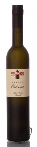Walcher Grappa Cabernet 42% vol. 0,50l