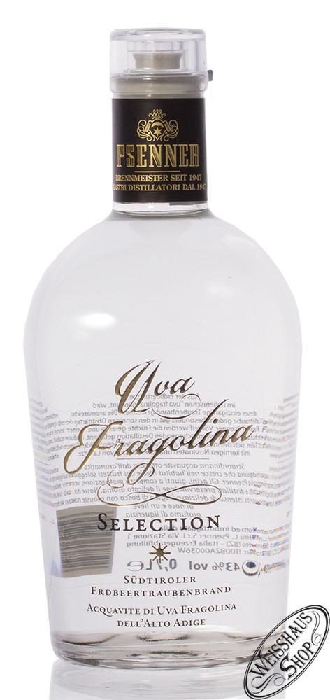 Psenner Uva Fragolina Erdbeertraubenbrand 43% vol. 0,70l
