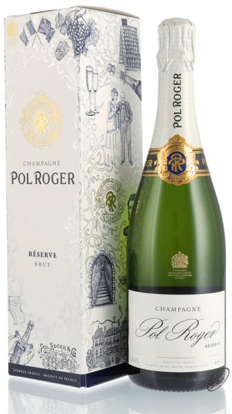 Pol Roger Reserve Brut Champagner 12,5% vol. 0,75l