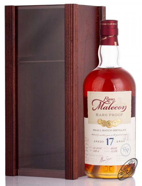 Malecon Rare Proof 17 YO Rum 51,2% vol. 0,70l