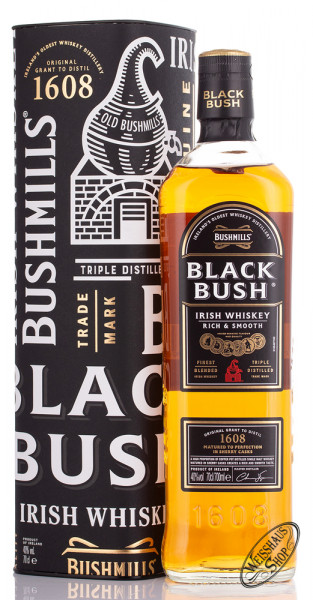 Bushmills Black Bush Irish Whiskey 40% vol. 0,70l
