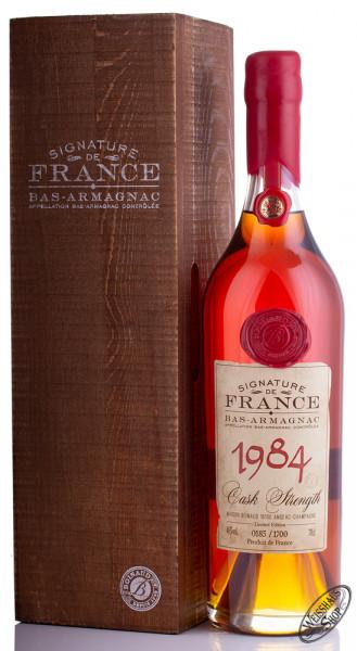 Signature de France Vintage 1984 Armagnac 46% vol. 0,70l