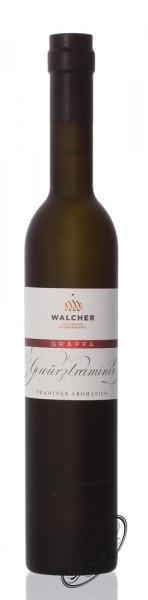 Walcher Grappa Gewürztraminer 40% vol. 0,50l