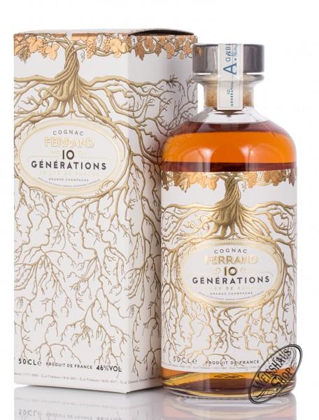 Pierre Ferrand 10 Generations 1er Cru de Cognac 46% vol. 0,50l
