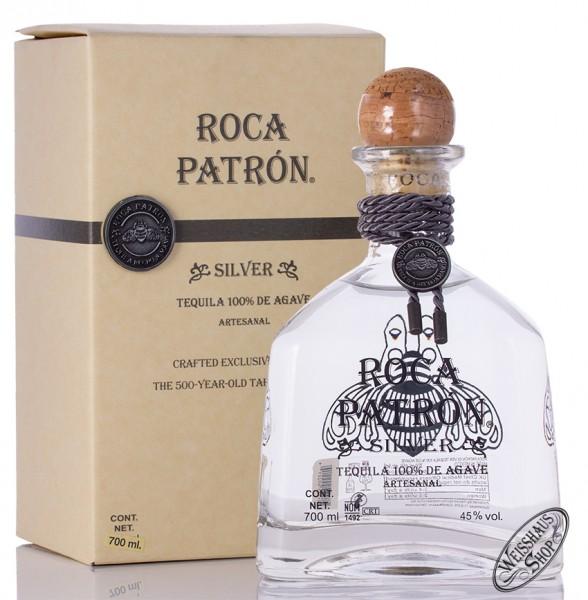 Patron Roca Silver Tequila 45% vol. 0,70l