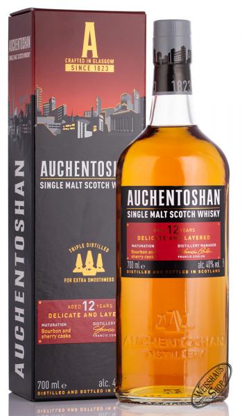 Auchentoshan 12 YO Whisky 40% vol. 0,70l