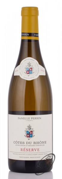 Famille Perrin Côtes du Rhône Blanc Reserve 2019 13,5% vol. 0,75l