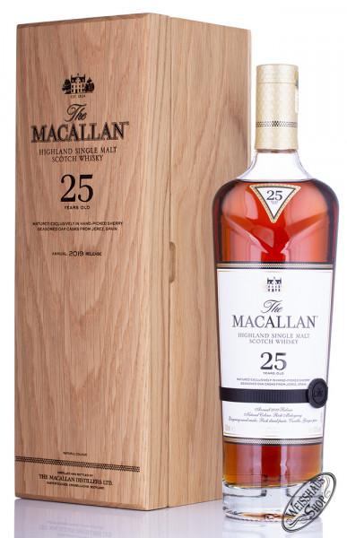 Macallan 25 YO Sherry Oak Release 2019 Whisky 43% vol. 0,70l
