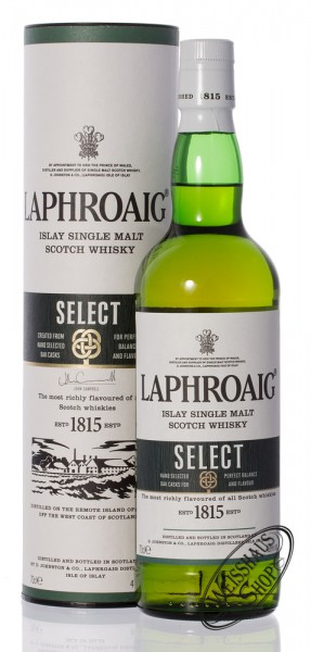 Laphroaig Select Single Malt Islay Whisky 40% vol. 0,70l