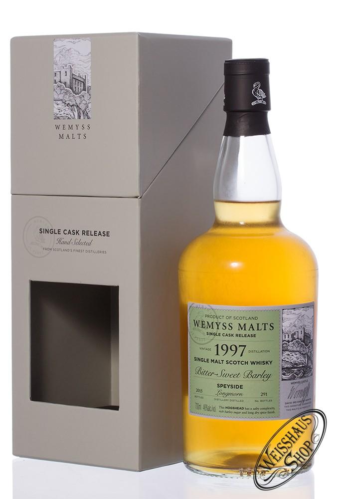 Longmorn Vintage 1997 Wemyss Bitter Sweet Barley 17 YO Whisky 46% vol. 0,70l