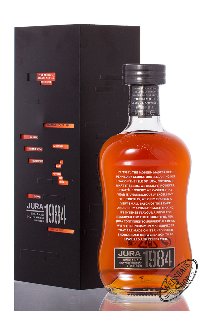 Isle Of Jura Vintage 1984 Whisky 44% vol. 0,70l
