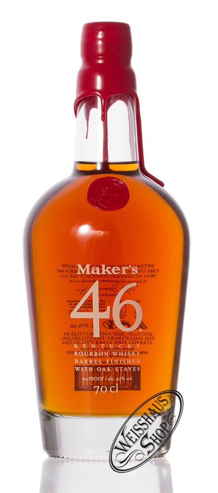 Maker's Mark 46 Bourbon Whisky 47% vol. 0,70l