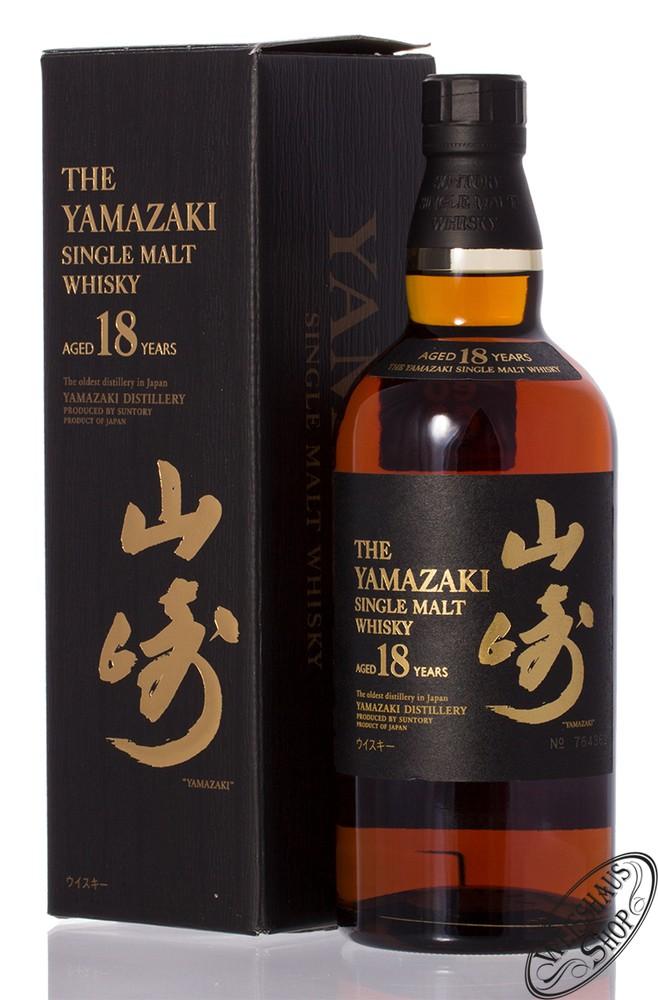 Yamazaki 18 YO Single Malt Whisky 43% vol. 0,70l