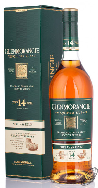 Glenmorangie Quinta Ruban Single Malt Whisky 46% vol. 0,70l