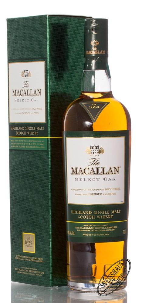 Macallan Select Oak Whisky 40% vol. 0,70l