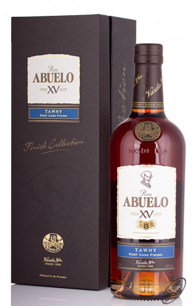 Ron Abuelo XV Tawny Port Cask Finish Rum 40% vol. 0,70l