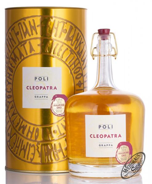 Poli Grappa Cleopatra Amarone Oro in Tubo 40% vol. 0,70l