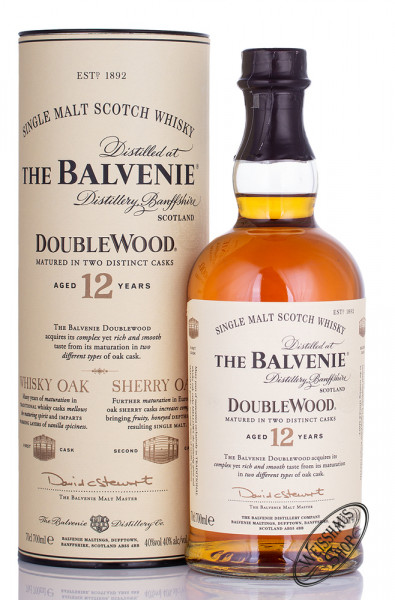 The Balvenie 12 YO Double Wood Single Malt Whisky 40% vol. 0,70l