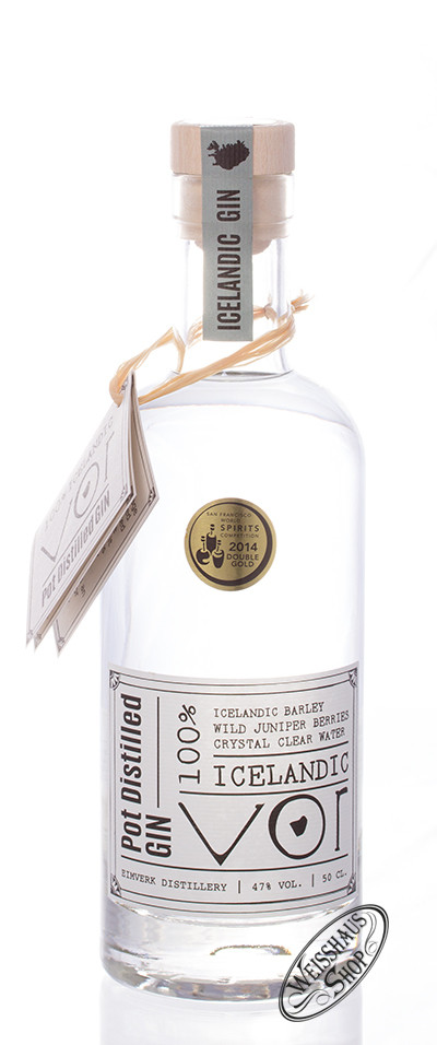VOR Iceland Gin 47% vol. 0,50l
