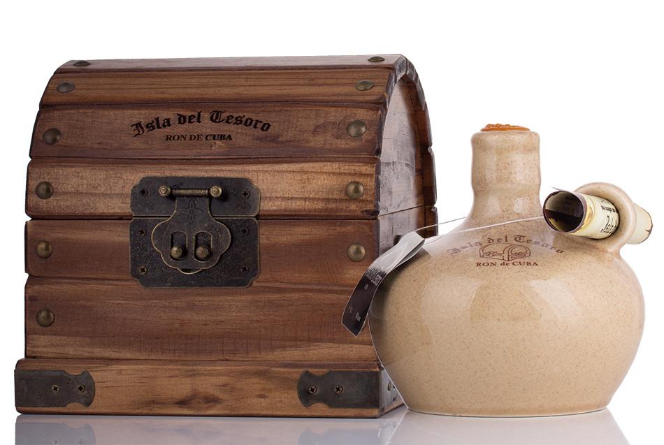 Santiago de Cuba Isla del Tesoro Rum 40% vol. 0,70l