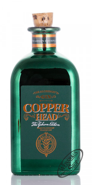 Copperhead Gin The Gibson Edition 40% vol. 0,50l
