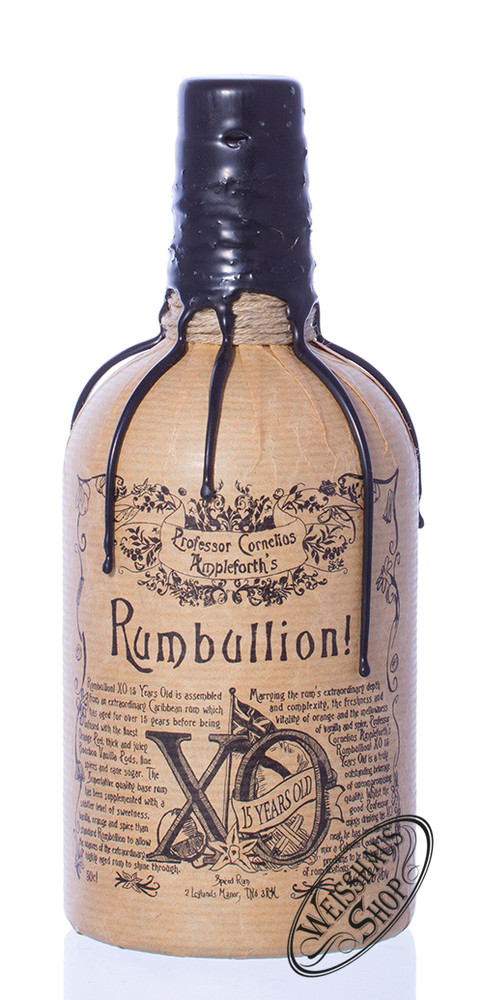 Professor Cornelius Ampleforth's Rumbullion! XO 15 YO 46,2% vol. 0,50l