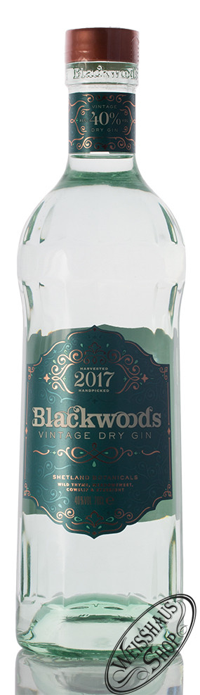Blackwoods Blackwood's Vintage Dry Gin 2017 40% vol. 0,70l