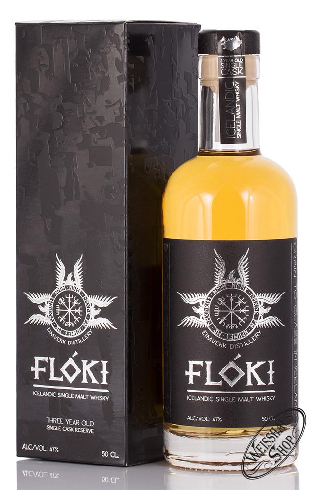 VOR Floki Icelandic Single Malt Whisky 47% vol. 0,50l