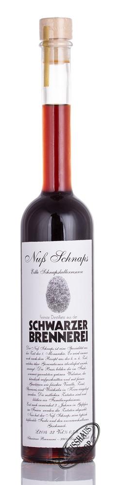 Schwarzer Nuss Schnaps 32% vol. 0,50l
