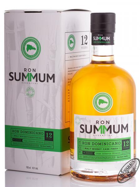 Summum 12 YO Malt Whisky Finish Rum 43% vol. 0,70l