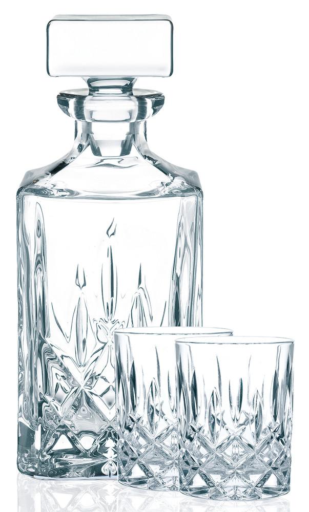 Nachtmann Noblesse Whisky Set 2 Gl�ser 1 Dekanter