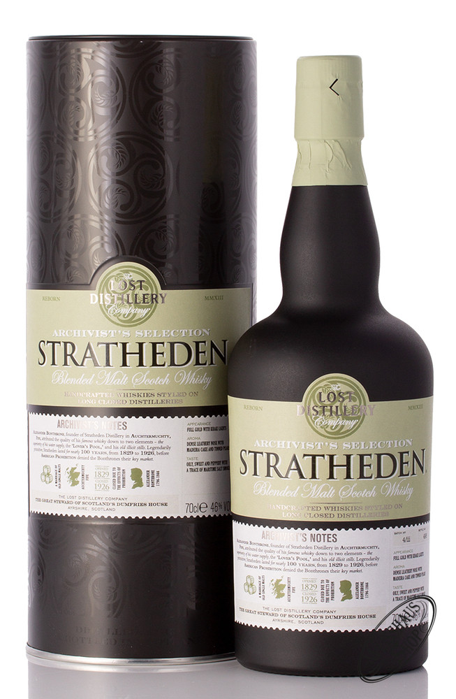 The Lost Distillery Stratheden Archivist Whisky 46% vol. 0,70l