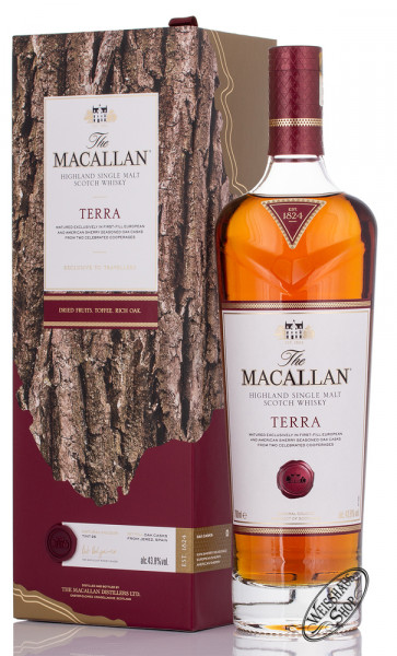Macallan Terra Single Malt Whisky 43,8% vol. 0,70l