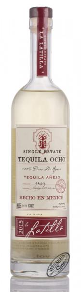 OCHO La Latilla Anejo Tequila 40% vol. 0,70l