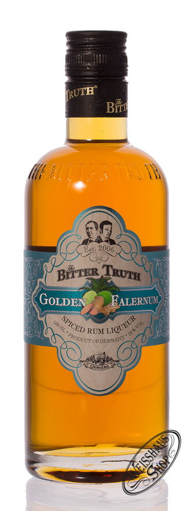 The Bitter Truth Golden Falernum 18% vol. 0,50l