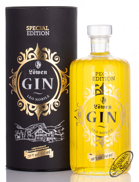 Bergbrennerei Löwen Special Edition Leo Nobile Gin 40% vol. 0,35l
