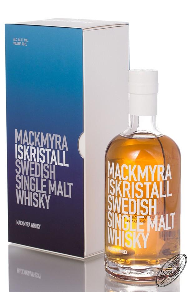 Mackmyra Iskristall Swedish Whisky 46,1% vol. 0,70l