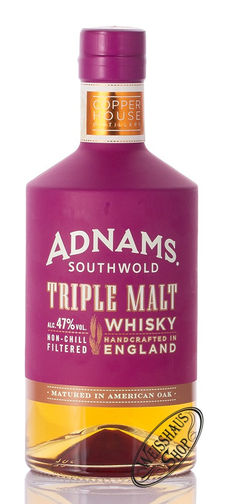 Adnams Copper House Distillery Adnams Whisky Triple Malt 47% vol. 0,70l