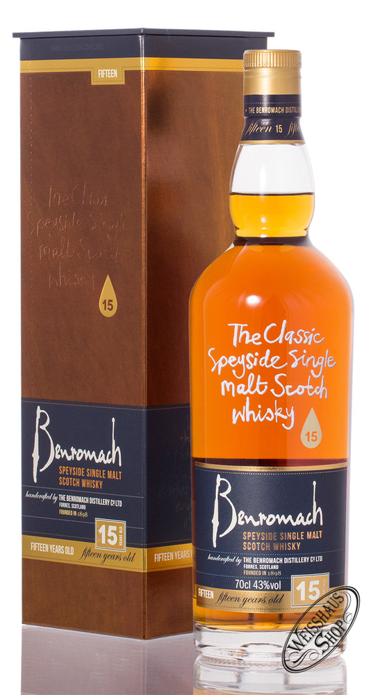 Benromach 15 YO Single Malt Whisky 43% vol. 0,70l